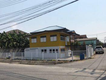 ขายบ้านเดี่ยว สุขุมวิท บางปู ติดถนน หลังใหญ่ ทำเลดี หัวมุม เปิดร้านอาหาร ค้าขายปัง