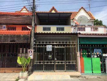 ขายทาวน์เฮ้าส์ ถนนเทพารักษ์ แพรกษา  หมู่บ้านรินทิชา ซ.มังกร-นาคดี