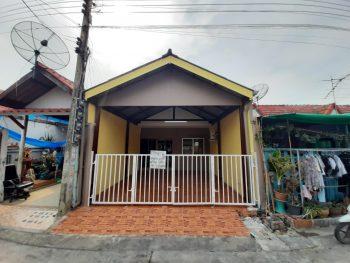 ขายทาวน์เฮ้าส์ ถนนแพรกษา หมู่บ้านเพชรงาม ติดโรงเรียนปทุมคงคา