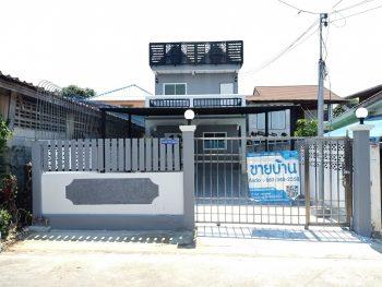 บ้านเดี่ยวทำเลดี ถนนศรีนครินทร์ ซอยทรัพย์บุญชัย ใกล้โรงพยาบาลเปาโล รถไฟฟ้า ทางด่วนกาญจนา